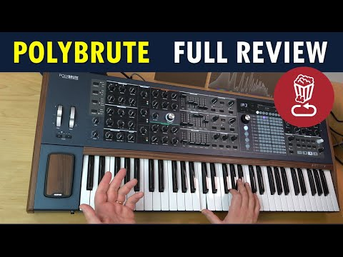POLYBRUTE Review // +70 Presets // Full morph tutorial for Arturia's flagship synth