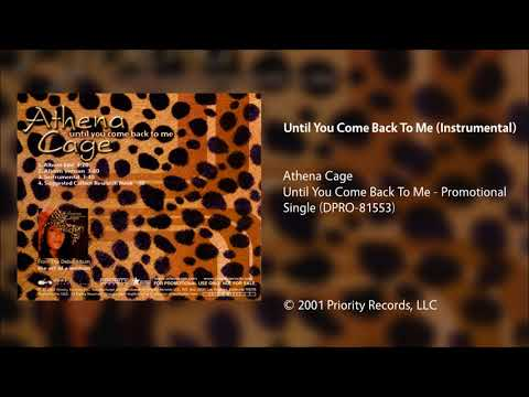 Athena Cage - Until You Come Back To Me (Instrumental)