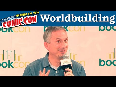 Let's Get Lost: Worldbuilding Panel | New York Comic Con 2016