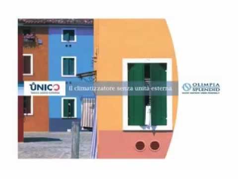 Climanet presenta in esclusiva unico inverter senza unita - Condizionatori inverter senza unita esterna ...