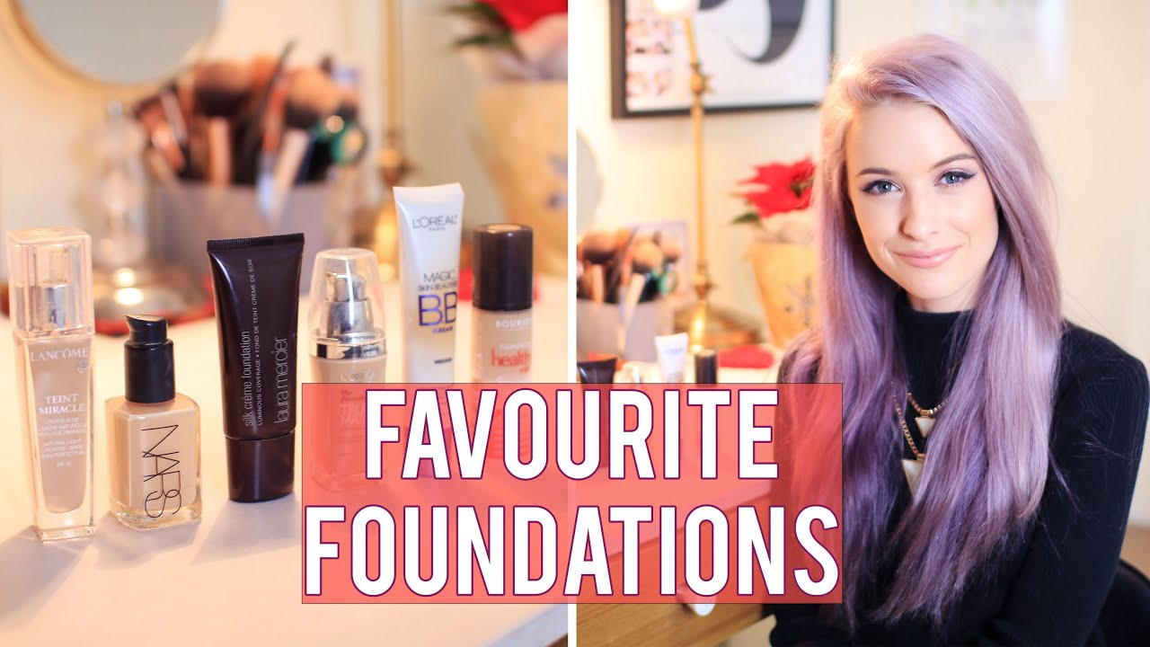 My Top 6 Favourite Foundations on the Drugstore and Luxury Market