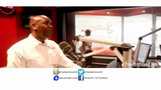 Yarona FM-Minister of Minerals, Energy and Water Resources(Hon. Kitso Mokaila)