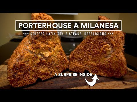 Porterhouse STEAK a MILANESA Sous Vide Experiment!