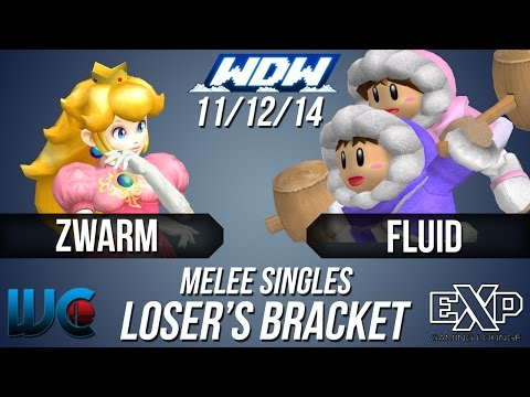 WDW 11/12/14 - Zwarm (Peach) vs. Fluid...