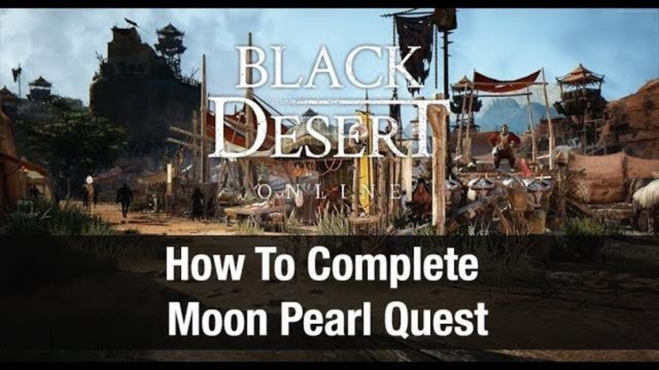 Pick Weeds with a Pig Quest Black Desert Online by Linnet's How To