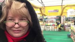 ЯРМАРКА МЕДА В КОЛОМЕНСКОМ. МОСКВА 03.2017 г