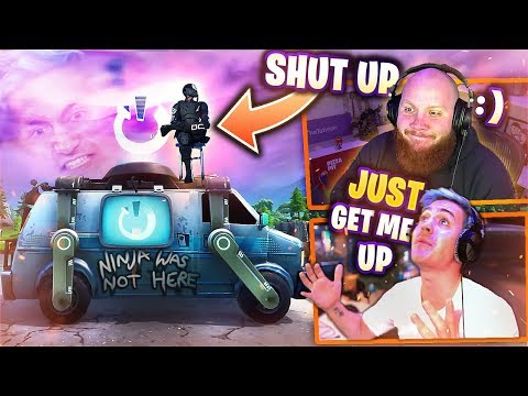 TROLLING NINJA BECAUSE HE WITHHELD MINIS FROM ME! FT. FEARITSELF & REVERSE2K