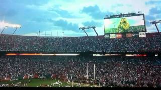 Fergie singing the national anthem @ dolphins game