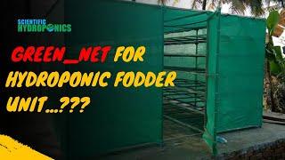 Ashwin Sawant | Green_Net for Hydroponic Fodder unit...???