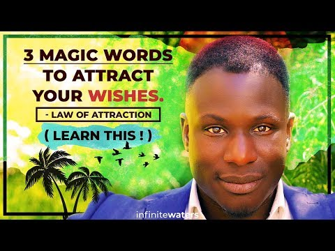 3 Magic Words to Attract Your Wishes (Law of Attraction) Learn This!