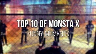monsta x top 10 funny moments