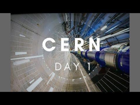 CERN: Day 1
