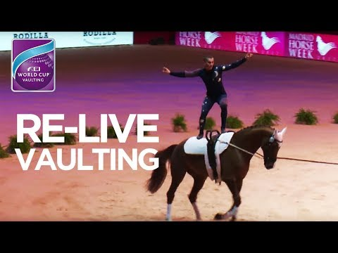 RE- LIVE | FEI World Cup™ Vaulting - 1st competition | Madrid Horse Week