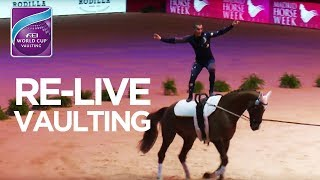 Video RE- LIVE | FEI World Cup™ Vaulting | Madrid Horse Week download MP3, 3GP, MP4, WEBM, AVI, FLV November 2017