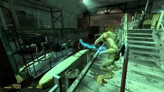 Half-Life 2 Walkthrough: Chapter 4 - Water Hazard {Part 3} [Hard Mode] (1080p)