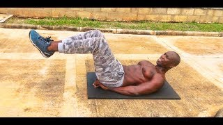 10 MINUTES ABS WORKOUT AT HOME