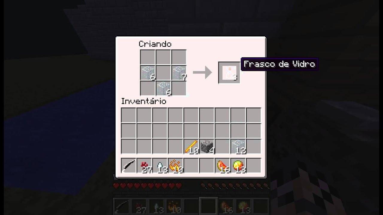 Como Fazer Poções no Minecraft 172  YouTube -> Como Fazer Banheiro Moderno No Minecraft