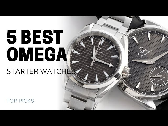 5 Best Omega Starter Watches | SwissWatchExpo [Omega Watches]