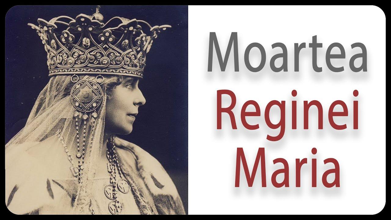 Moartea Reginei Maria