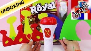UNO Royal - Le roi dicte les règles! | Couronne, Sceptre et Fou | Unboxing