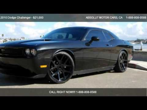 2010 Dodge Challenger Se For Sale In Costa Mesa Ca