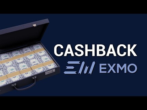 EXMO Expertise: 5 advantages of a profitable cashback!
