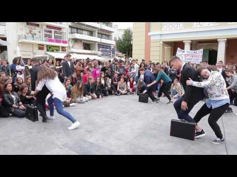 Διαμαρτυρία Καλλιτεχνικού Σχολείου Ηρακλείου α