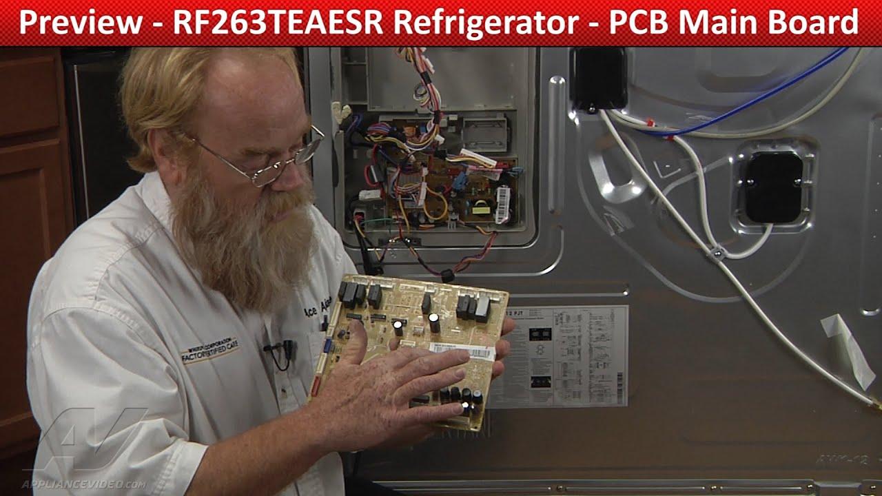 PCB Main PC Curcuit Board  RF263TEAESR Samsung Refrigerator  YouTube