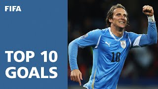 Top 10 Goals: 2010 FIFA World Cup South Africa [OFFICIAL](, 2013-04-12T06:04:13.000Z)