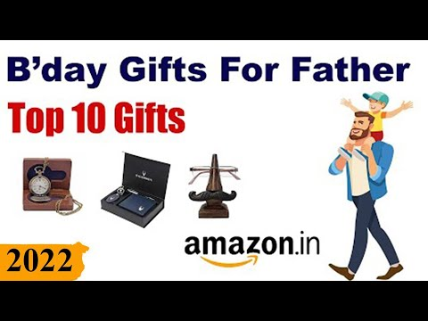 Top 10 Birthday Gifts For Father In India (2020)  || Best Gifts For On Birthday In India