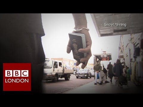 Black market in fake passports and UK residence cards – BBC London News