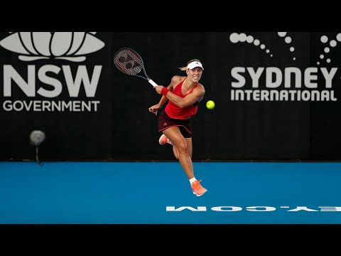 Angelique Kerber on fire at Sydney International
