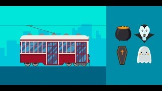 How to Create a Tram and  Set of Halloween Icons in Adobe Illustrator