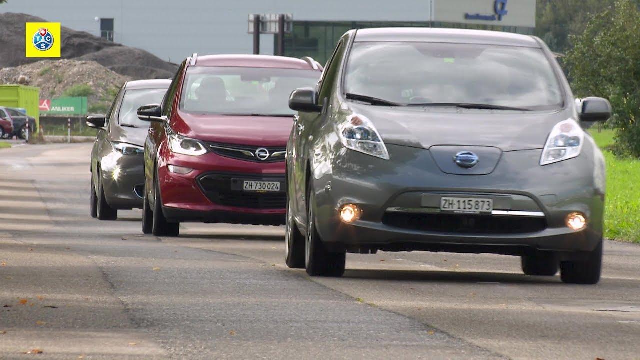 elektroautos im vergleichstest - youtube