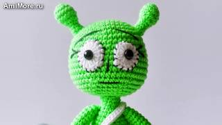 Амигуруми: схема Инопланетяша Савелий. Игрушки вязаные крючком - Free crochet patterns.