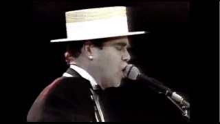 Elton John - The Bitch is Back (Live at Wembley Stadium 1984) HD