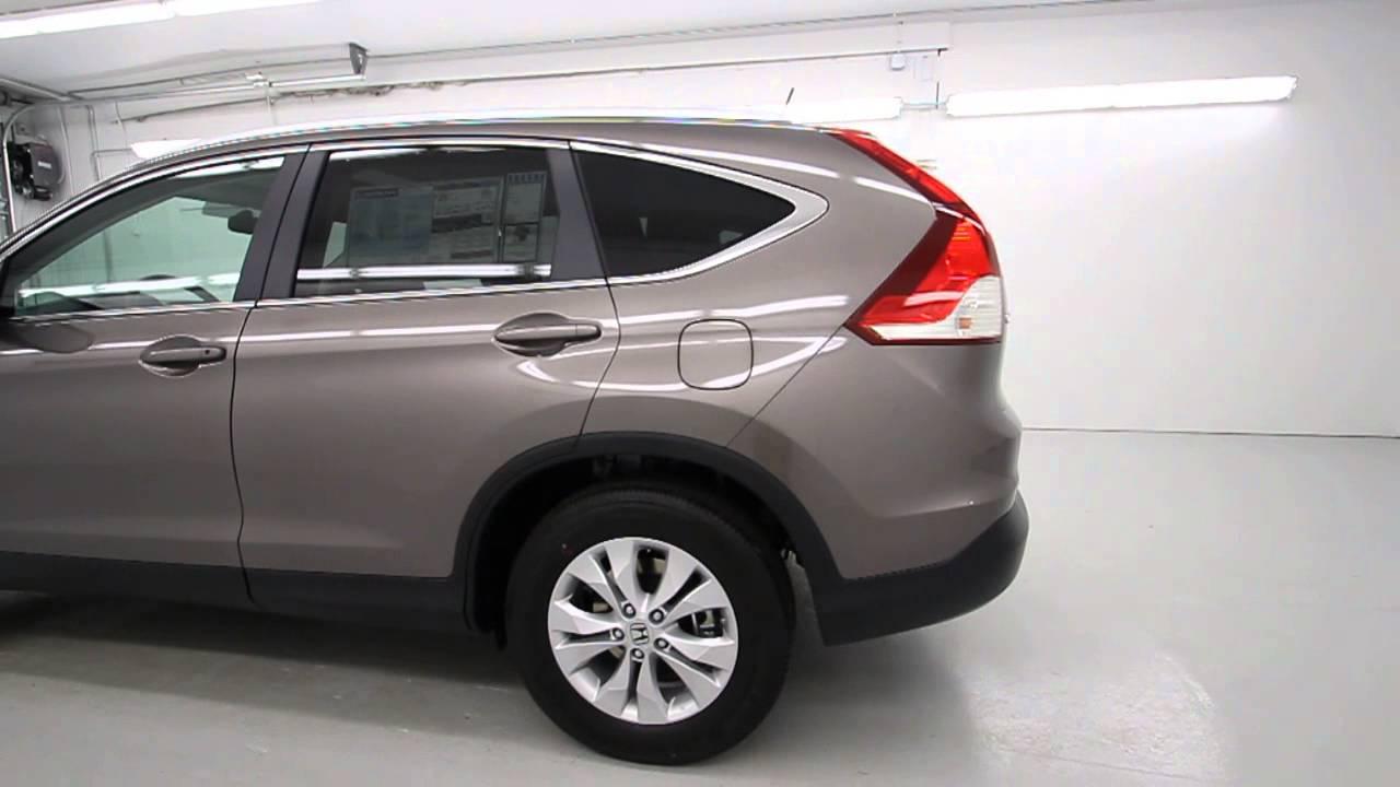 2013 Honda Cr V Ex L Awd Urban Titanium Metallic Stk