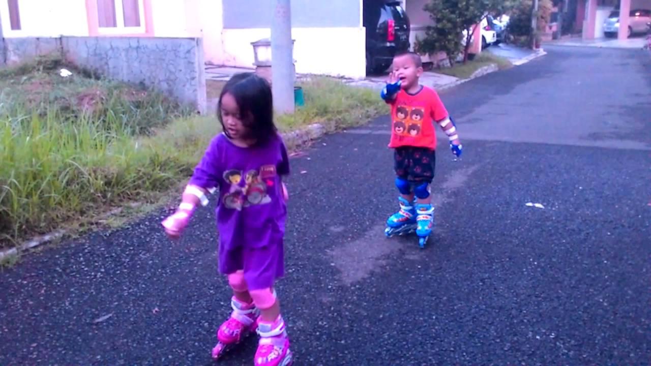 Sepatu Roda Frozen Boboiboy - YouTube 239fc56161