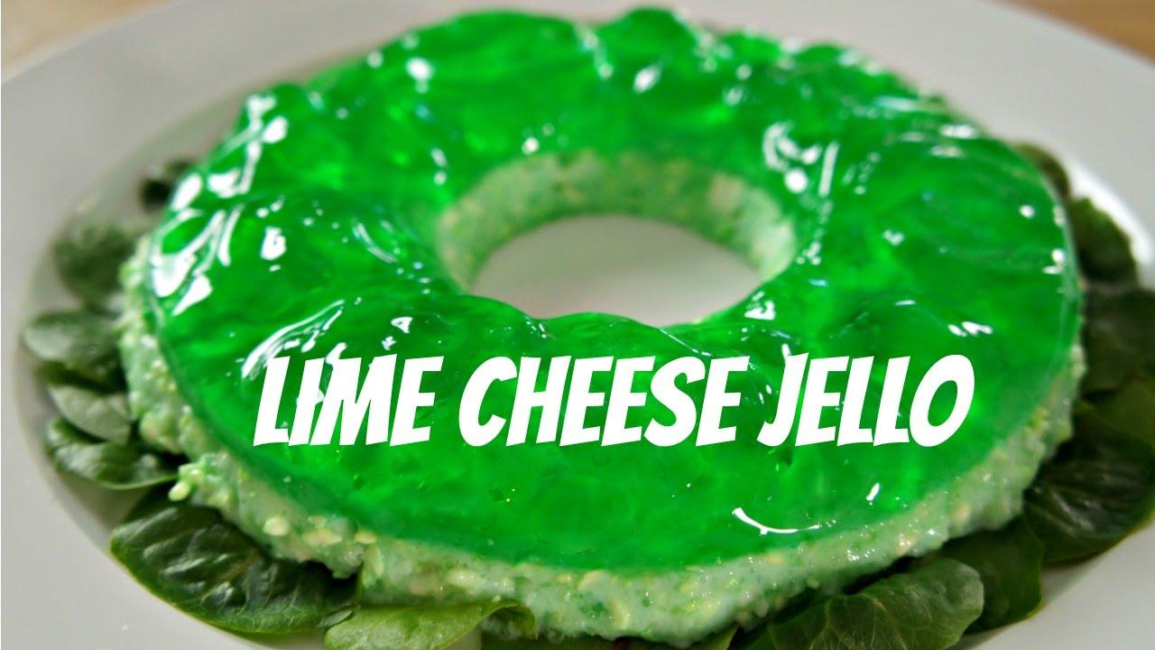 Savory Lime Cheese Jello You Made What Retro Recipe