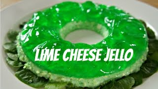 Savory Lime Cheese Jello - You Made What?! - Retro Recipe