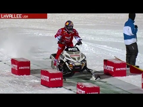 Winter  X Games 2013: Snowmobile Freestyle - Levi LaVallee