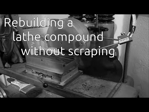 Rebuilding an import compound slide - Part 2