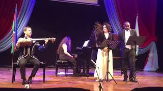 Sarin Gelin (Yellow Bride) sung by Teuta and Jo while Sahib on Tar and Saida on Piano