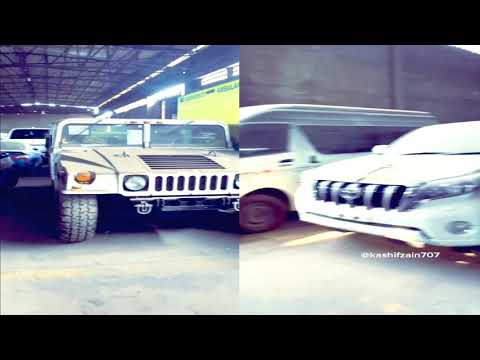 Heavy Luxury Cars Stuck At Karachi Port