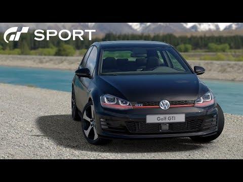 Vozim Golfa 7 po Hrvatskoj u Gran Turismo Sport