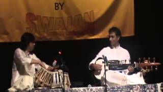 Indian classical music afternoon at the Swajan Durga Puja