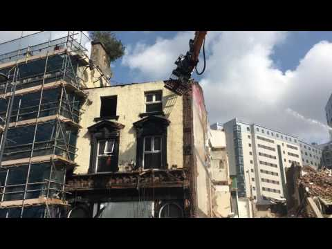 Demolition Of Lime Street Continued, Week 2 Day 3