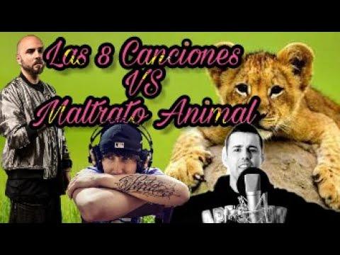 Las 8 Canciones de rap vs el Maltrato Animal