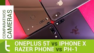 OnePlus 5T, iPhone X, Razer Phone e PH-1 | Comparativo de câmeras do TudoCelular