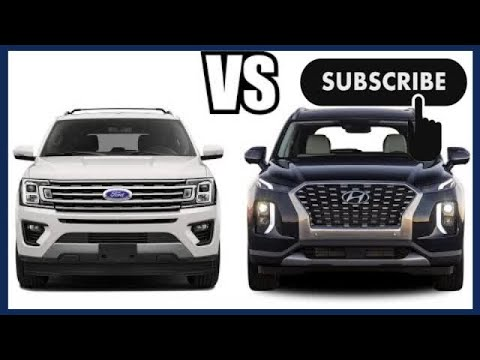 2020 Hyundai PALISADE vs 2019 Ford Expedition